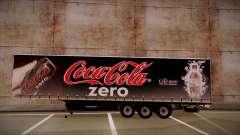 Sider Semi-trailer Coca-cola Zero