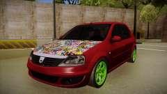 Dacia Logan Hellaflush for GTA San Andreas