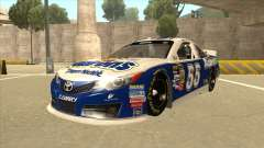 Toyota Camry NASCAR No. 55 Aarons DM blue-white
