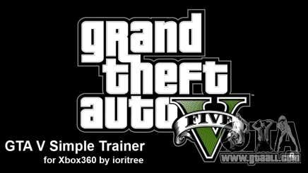 GTA 5 simple trainer by ioritree for GTA 5
