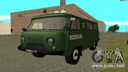 UAZ 452 ambulance for GTA San Andreas