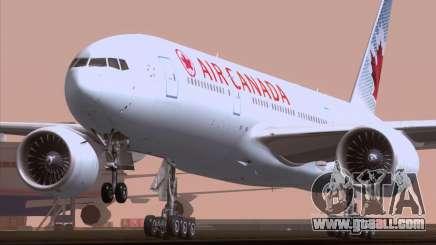 Boeing 777-200ER Air Canada for GTA San Andreas