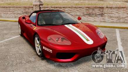 Ferrari 360 Spider 2000 [EPM] for GTA 4