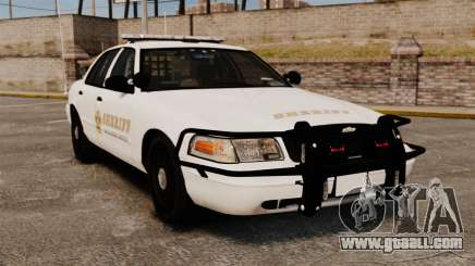GTA V sheriff car [ELS] for GTA 4