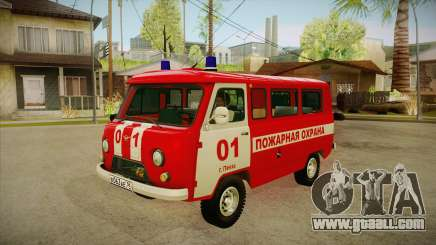 UAZ 452 Fire headquarters for GTA San Andreas
