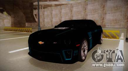 Chevrolet Camaro ZL1 2012 RCPD V1.0 for GTA San Andreas