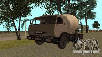 KAMAZ Lorries 53115 for GTA San Andreas