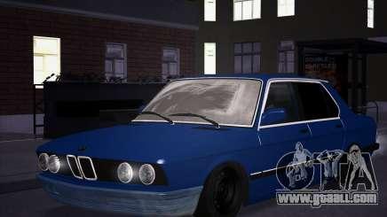 BMW 5-er E28 Tramp for GTA San Andreas