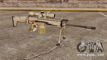 Automatic rifle Mk 17 SCAR-H for GTA 4