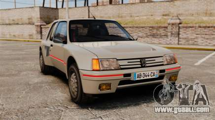 Peugeot 205 Turbo 16 for GTA 4
