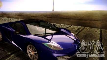 McLaren MP4-12C WheelsAndMore for GTA San Andreas