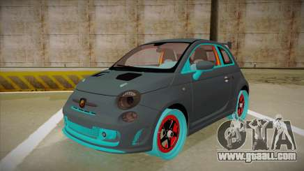 Abarth 500 Esseesse 2010 for GTA San Andreas