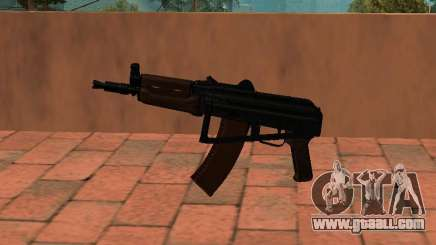 AKS-74U mm for GTA San Andreas