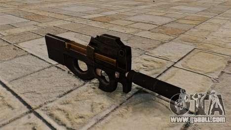 P90 submachine gun for GTA 4