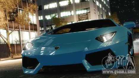 Lamborghini Aventador LP700-4 [EPM] 2012 for GTA 4 right view
