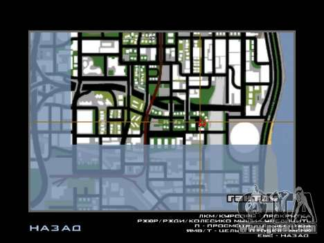 New Hood and icons on the map for GTA San Andreas forth screenshot