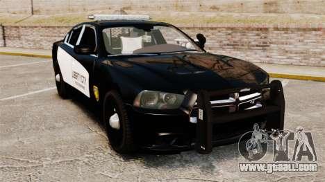 Dodge Charger 2013 LCPD STL-K Force [ELS] for GTA 4