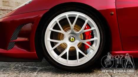 Ferrari F430 Scuderia 2007 for GTA 4 back view