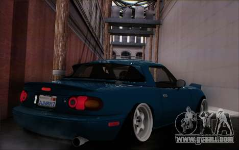 Mazda Miata for GTA San Andreas left view