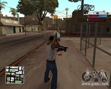 C-HUD by Braun for GTA San Andreas second screenshot