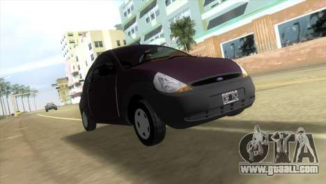 Ford Ka for GTA Vice City left view