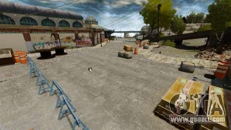 Supermoto track for GTA 4 seventh screenshot