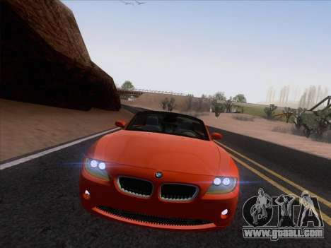 BMW Z4 Edit for GTA San Andreas back view