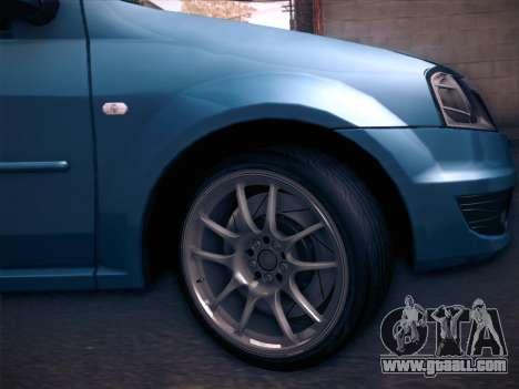 Dacia Logan GrayEdit for GTA San Andreas right view
