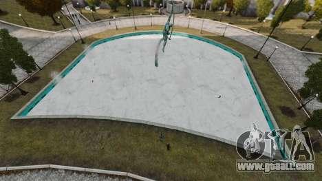 Frozen water for GTA 4 fifth screenshot