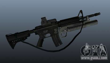 Automatic carbine M4A1 v3 for GTA 4 third screenshot