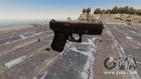Glock 19 semi-automatic pistol for GTA 4