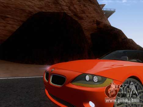 BMW Z4 Edit for GTA San Andreas left view