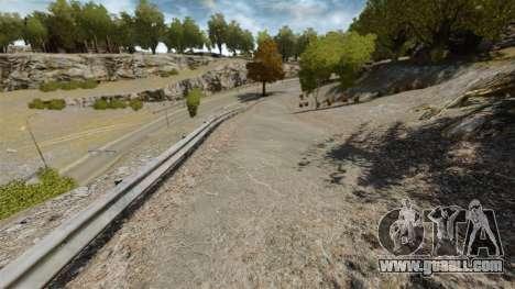 Supermoto track for GTA 4 fifth screenshot