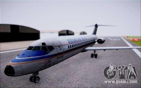 McDonnel Douglas DC-9-10 for GTA San Andreas right view
