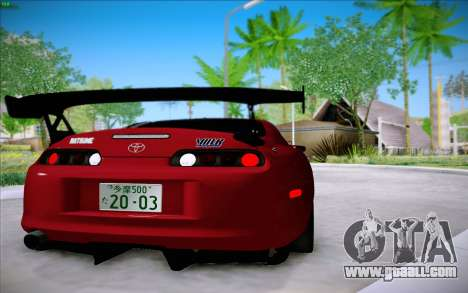 Toyota Supra RZ 1998 Drift for GTA San Andreas right view