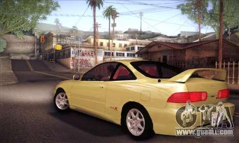 Honda Integra Drift for GTA San Andreas left view