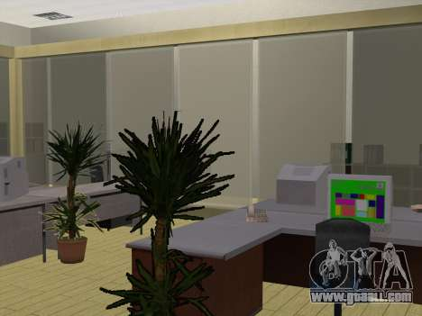 New textures Interior City Hall for GTA San Andreas forth screenshot