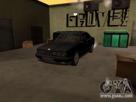 BMW 520i e34 for GTA San Andreas right view