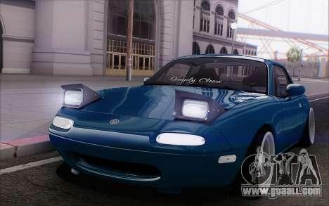 Mazda Miata for GTA San Andreas inner view