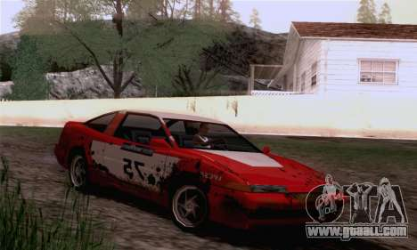 Uranus Rally Edition for GTA San Andreas back left view