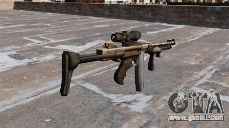The Thompson submachine gun 2009 for GTA 4 second screenshot