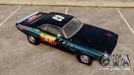 Dodge Challenger 1971 v1 for GTA 4 interior