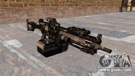 General-purpose machine gun HK23E for GTA 4