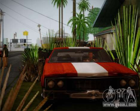 Sabre Turbo for GTA San Andreas left view