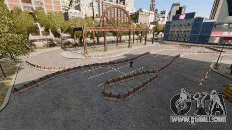 River Side Drift Track for GTA 4 third screenshot