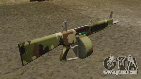 The AA-12 shotgun Camo v2 for GTA 4 second screenshot