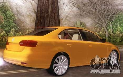 Volkswagen Vento 2012 for GTA San Andreas back left view