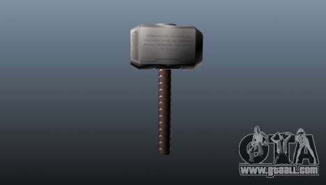 Thor's Hammer for GTA 4 second screenshot