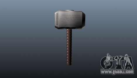 Thor's Hammer for GTA 4 second screenshot