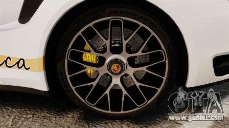 Porsche 911 Turbo 2014 [EPM] America for GTA 4 back view